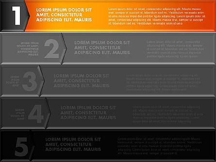 Colorful Origami Style Number Options Banner, Slide 9, 01743, Business Models — PoweredTemplate.com