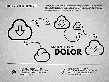 Shapes: Hand Drawn Style Presentation Shapes #01745