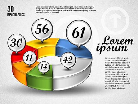 Colorful 3D Charts, Slide 2, 01746, Business Models — PoweredTemplate.com