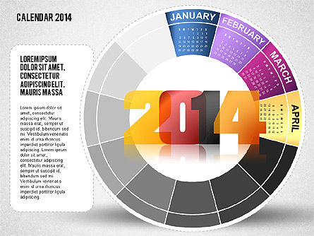2014 PowerPoint Calendar Slide 4
