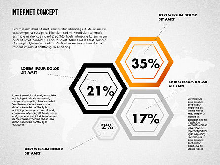 Internet Infographics, Slide 3, 01751, Business Models — PoweredTemplate.com