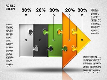 Puzzle Diagrams: Arrow Puzzle #01753