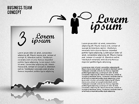 Business Team Presentation, Slide 4, 01757, Business Models — PoweredTemplate.com