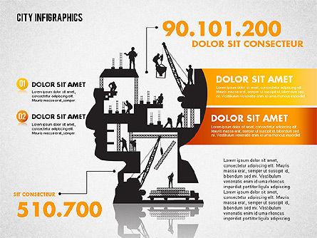 Construction Infographics, Slide 2, 01758, Business Models — PoweredTemplate.com