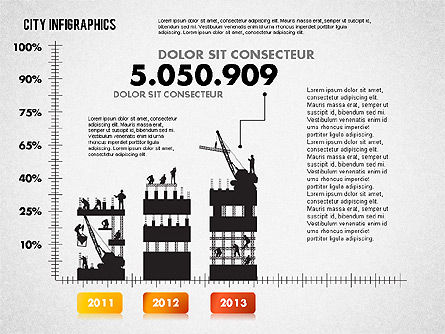 Construction Infographics, Slide 6, 01758, Business Models — PoweredTemplate.com
