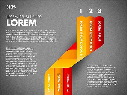 Polylines Options Diagram, Slide 11, 01760, Business Models — PoweredTemplate.com
