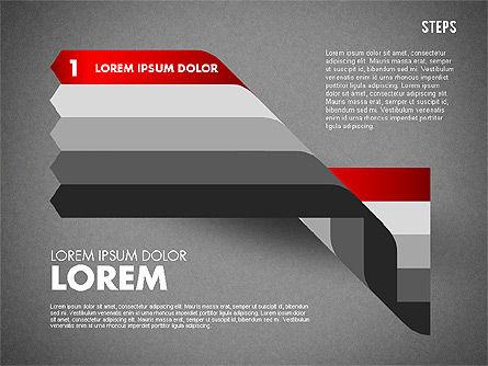 Polylines Options Diagram, Slide 12, 01760, Business Models — PoweredTemplate.com