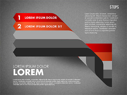 Polylines Options Diagram, Slide 13, 01760, Business Models — PoweredTemplate.com