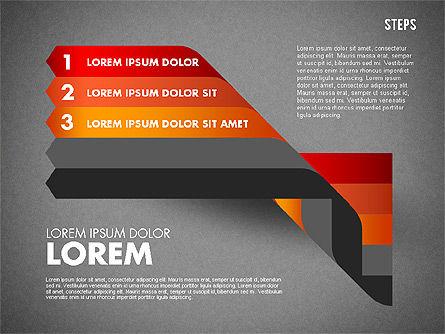 Polylines Options Diagram, Slide 14, 01760, Business Models — PoweredTemplate.com