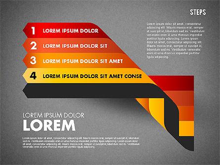 Polylines Options Diagram, Slide 15, 01760, Business Models — PoweredTemplate.com