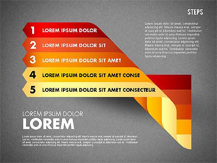 Polylines Options Diagram, Slide 16, 01760, Business Models — PoweredTemplate.com