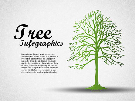 Green Tree Infographics, 01762, Business Models — PoweredTemplate.com