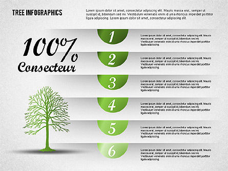 Green Tree Infographics, Slide 3, 01762, Business Models — PoweredTemplate.com