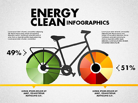 Business Models: Clean Energy Infographics #01764