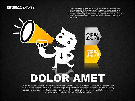 Funny Business Illustrations, Slide 10, 01766, Business Models — PoweredTemplate.com