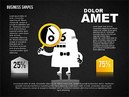 Funny Business Illustrations, Slide 11, 01766, Business Models — PoweredTemplate.com