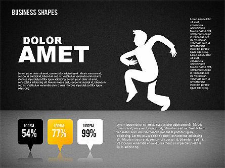 Funny Business Illustrations, Slide 14, 01766, Business Models — PoweredTemplate.com