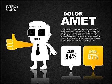 Funny Business Illustrations, Slide 15, 01766, Business Models — PoweredTemplate.com