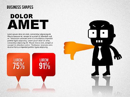 Funny Business Illustrations, Slide 5, 01766, Business Models — PoweredTemplate.com