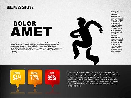 Funny Business Illustrations, Slide 6, 01766, Business Models — PoweredTemplate.com