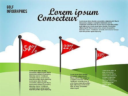 Golf Infographics Slide 2