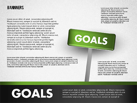 Banners with Words, Slide 2, 01771, Business Models — PoweredTemplate.com