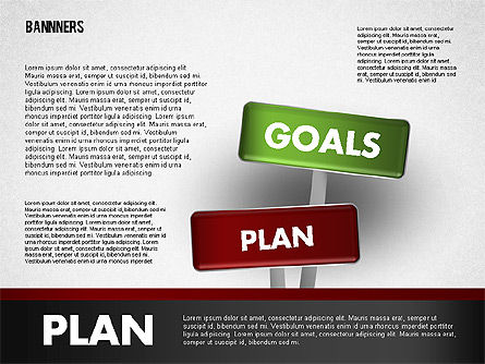 Banners with Words, Slide 3, 01771, Business Models — PoweredTemplate.com