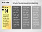 Business Models: Business Steps Agenda #01772