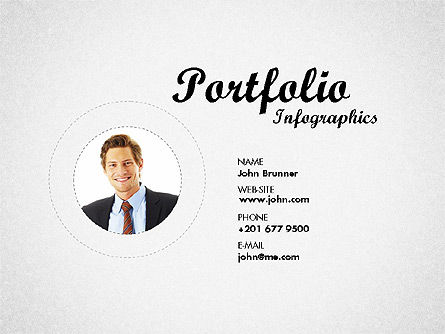 Presentation Templates: Resume Template #01776