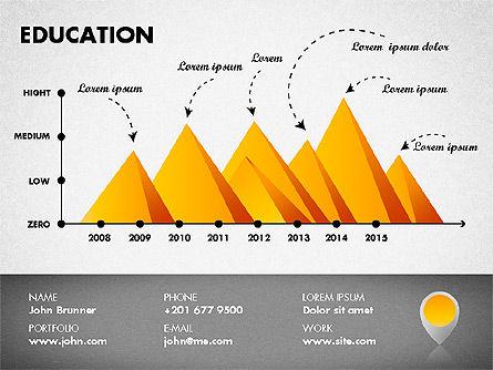 Resume Template, Slide 8, 01776, Presentation Templates — PoweredTemplate.com