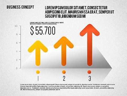 Business Report Concept, Slide 4, 01782, Business Models — PoweredTemplate.com