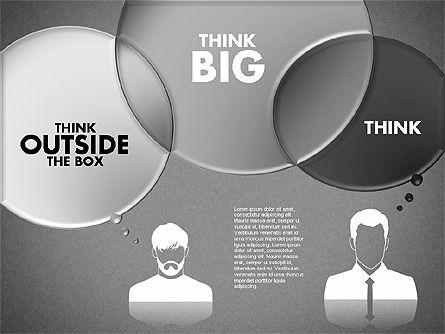 Thinking People Shapes, Slide 12, 01789, Business Models — PoweredTemplate.com
