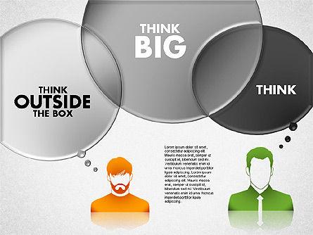 Thinking People Shapes, Slide 4, 01789, Business Models — PoweredTemplate.com