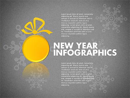 Christmas Decoration Pie Chart, Slide 9, 01791, Pie Charts — PoweredTemplate.com