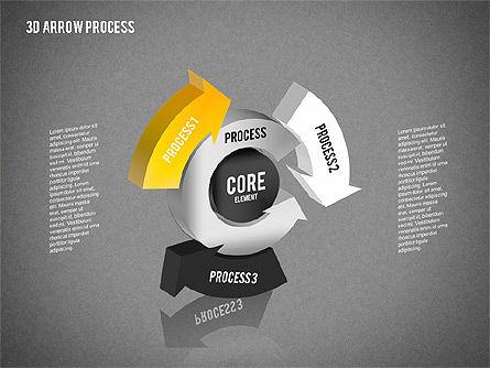 Core Process Diagram, Slide 14, 01792, Process Diagrams — PoweredTemplate.com