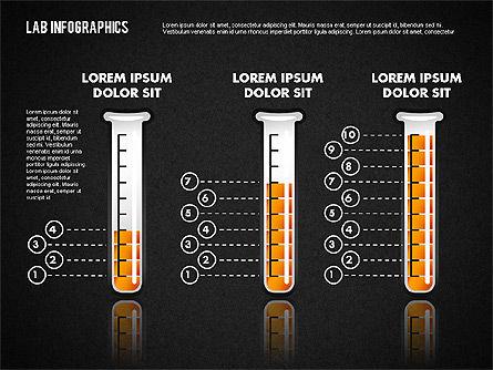 Laboratory Infographics, Slide 10, 01794, Education Charts and Diagrams — PoweredTemplate.com
