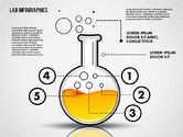 Education Charts and Diagrams: Infographie en laboratoire #01794