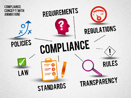 Business Models: Regulatory Compliance Concept (with animation) #01797