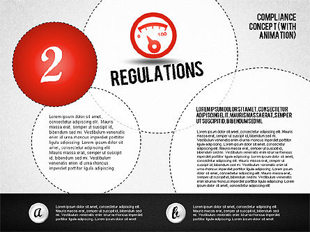 Regulatory Compliance Concept (with animation), Slide 4, 01797, Business Models — PoweredTemplate.com