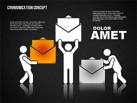Communication Concept, Slide 16, 01800, Business Models — PoweredTemplate.com