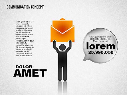Communication Concept, Slide 7, 01800, Business Models — PoweredTemplate.com