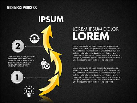 Serpentine Process, Slide 11, 01801, Process Diagrams — PoweredTemplate.com