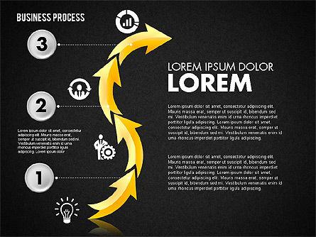 Serpentine Process, Slide 12, 01801, Process Diagrams — PoweredTemplate.com