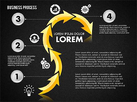 Serpentine Process, Slide 13, 01801, Process Diagrams — PoweredTemplate.com