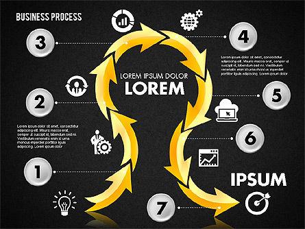 Serpentine Process, Slide 16, 01801, Process Diagrams — PoweredTemplate.com