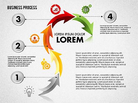 Serpentine Process, Slide 5, 01801, Process Diagrams — PoweredTemplate.com