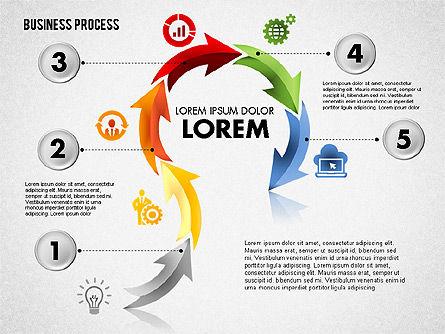Serpentine Process, Slide 6, 01801, Process Diagrams — PoweredTemplate.com