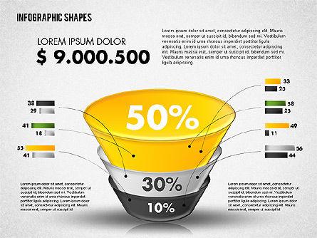 Funnel Infographics, Slide 3, 01802, Business Models — PoweredTemplate.com