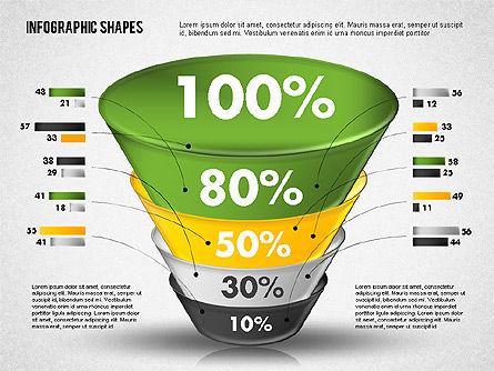 Funnel Infographics, Slide 4, 01802, Business Models — PoweredTemplate.com