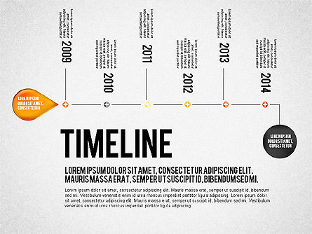 timeline set for powerpoint presentations download now 01816